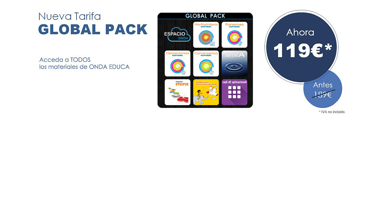 Nueva tarifa global pack 119€